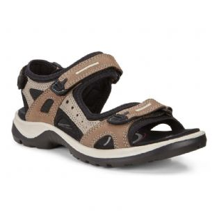 ECCO Ladies Offroad Birch Yabuck Sandals